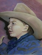 Hat Pastels - Buckaroo by Barbara Sutton