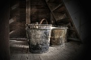 Christine Annas Metal Prints - Buckets Metal Print by Christine Annas