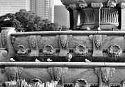 Buckingham Fountain - 5 Print by Ely Arsha