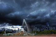 Shawn Everhart - Buckingham Fountain Storm