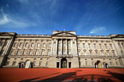 Buckingham Palace Photos - Buckingham Palace - Through The Gates 1.0 by Yhun Suarez