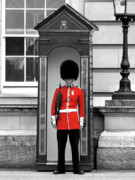 Selective Colouring Prints - Buckingham Palace Print by Graham Taylor