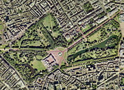 Buckingham Palace Photos - Buckingham Palace, Uk, Aerial Image by Getmapping Plc