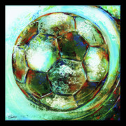 Soccer Ball Framed Prints - Buckminster Framed Print by Shevon Johnson
