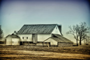 Barn Digital Art - Bucks County Farm by Bill Cannon