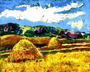 Romania Paintings - Bucovine Romania by Ion Danu