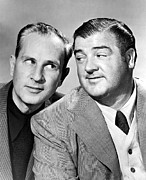 Bud Abbott And Lou Costello Abbott Print by Everett