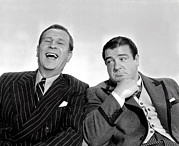 Costello Prints - Bud Abbott And Lou Costello In Print by Everett