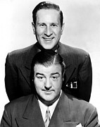 Costello Prints - Bud Abbott, Lou Costello Abbott And Print by Everett