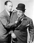Abbott Prints - Bud Abbott, Lou Costello In The 1930s Print by Everett