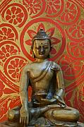 Buddhism Metal Prints - Buddha 2 Metal Print by Edward Myers