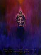 Chakra Paintings - Buddha by Alexandra Florschutz