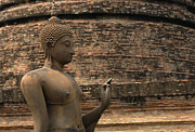 World Peace Art - Buddha at Sukhothai 2 by Bob Christopher
