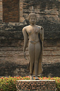 World Peace Art - Buddha at Sukhothai 3 by Bob Christopher