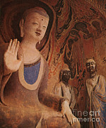 Buddha Artwork Prints - Buddha, China Print by Photo Researchers