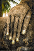 Buddha Hand Print by Adrian Evans