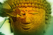 Buddha In Deep Meditation Print by Susanne Van Hulst
