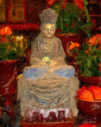 Diana Haronis - Buddha in Red