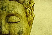 Meditation Photo Posters - Buddha Poster by Kristin Kreet