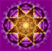 Mandalas Digital Art - Buddha Mandala by Sue Halstenberg
