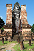 Enlightenment Prints - Buddha Monument Print by Artur Bogacki