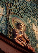 Bodhi Tree Art - Buddha Relief by Angela Wright