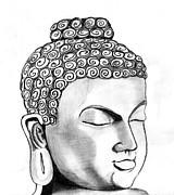 Buddha Print by Shashi Kumar