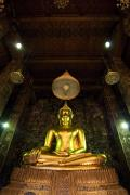 Religious Art Photos - Buddha sitting by Ray Laskowitz - Printscapes