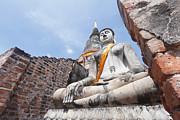 buddha statue in Thailand  Print by Thanawat  Wongsuwannathorn
