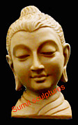 Creative Sculptures - Buddha Statue  by Sumit  Pandey