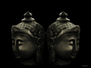 Beautiful Images Prints - Buddha Twins Print by Cheryl Young
