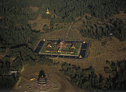 Point Arena Prints - Buddhist Monastery at Point Arena, California Print by Will & Deni McIntyre