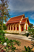 Foliage Digital Art - Buddhist Temple by Adrian Evans