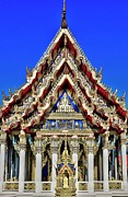 Spire Art - Buddhist Temple by Copyright JPB
