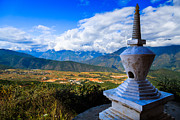 China Art - Buddhist Tower In Zhengjue Temple, Yunnan China by Feng Wei Photography
