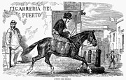 Milkman Framed Prints - Buenos Aires: Milkman, 1858 Framed Print by Granger