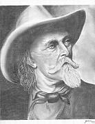 Coach Mixed Media - Buffalo Bill Cody by Julian  B