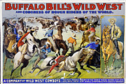 Show Mixed Media - Buffalo Bills Wild West by Charles Shoup