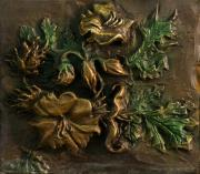 Dawn Senior-trask Reliefs - Buffalo Bur Flower from Snowy Range Life by Dawn Senior-Trask