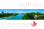 Best Choice Framed Prints - Buffalo Canada Framed Print by Syed Aqueel