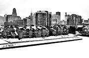 Waterfront Originals - Buffalo In Black And White by Don Nieman
