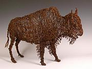 Bison Sculpture Originals - Buffalo by Josh Cote