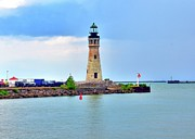 Boaters Prints - Buffalo Lighthouse Print by Kathleen Struckle