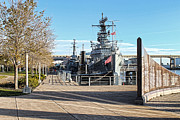 Little Rock Framed Prints - Buffalo Naval and Military Park Framed Print by Peter Chilelli