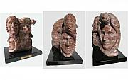 American Bison Sculpture Originals - Buffalo People by Harriet Greene