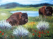 Repose Originals - Buffalo Repose  by Patti Gordon