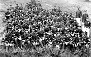 Infantry Photos - Buffalo Soldiers Of Company D, 8th by Everett