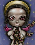 Abril Andrade Griffith Art - Bug Saint by  Abril Andrade Griffith