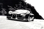 Bugatti Speed Print by Lyle Brown