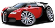 Exotic Digital Art - Bugatti Veyron  by Maddmax